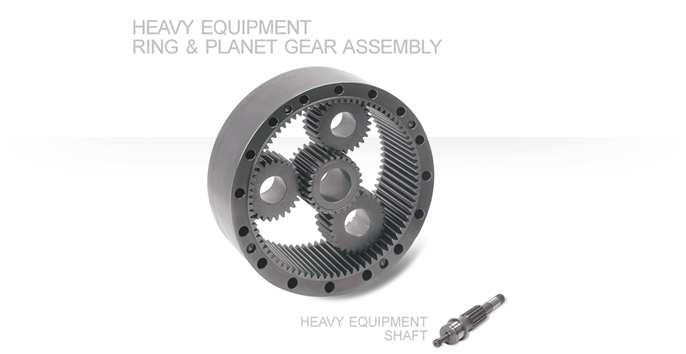 Heavy Equipment Ring & Planet Gear Assembly / Heavy Equipment Shaft